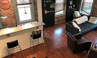 Living Room, 1223 Bingham St, 2