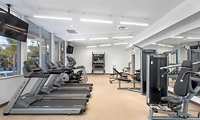 Fitness Weight Room, Retreat at Thousand Oaks, 1