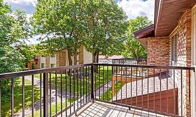 Patio / Deck, Oak Grove Apartments, 2