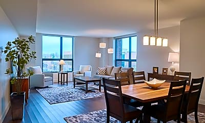 Dining Room, 1 Uptown Circle, 2