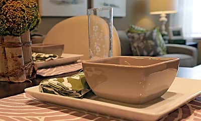 Dining Room, Serafino Square Apartments, 0