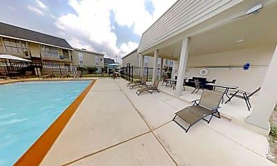 Pool, Northlake Manor Apartments, 1