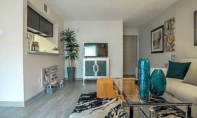 Living Room, Post Oak Place, 1