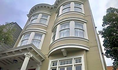 Building, 2818 Sacramento St, 2