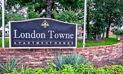 Community Signage, London Towne, 2