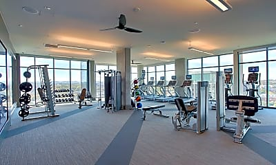Fitness Weight Room, The Morris, 2