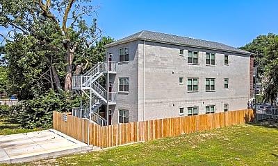 Building, 4552 S Evans Ave 1, 2