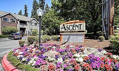 Community Signage, Ascent Apartment Homes, 1