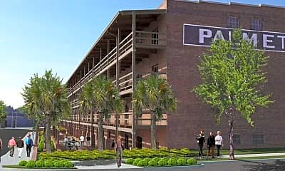 Rendering, The Apartments at Palmetto Compress, 0