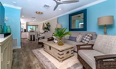 Living Room, 5041 N Beach Rd 3-A, 1