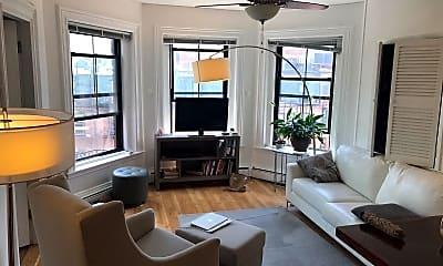 Living Room, 258 Commonwealth Avenue, 1