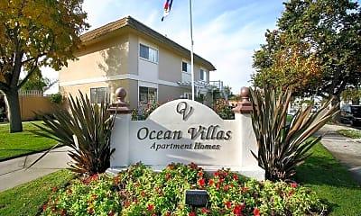 Community Signage, Ocean Villas, 1
