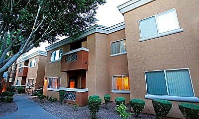Building, Indigo Springs, 1