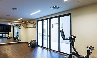 Fitness Weight Room, Decatur Point, 2