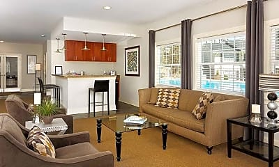 Living Room, 93 East Apartment Homes, 2