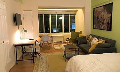 Living Room, 1727 Massachusetts Ave NW 203, 1