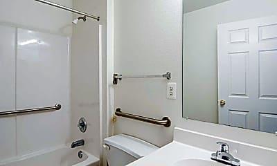 Bathroom, Courthouse Seniors Apartments, 2