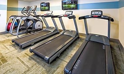 Fitness Weight Room, The Warwick, 2
