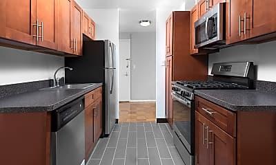Kitchen, Hayes House Luxury Apartments, 0