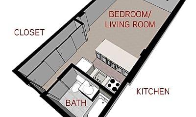 Bathroom, 330 E 10th Ave, 2