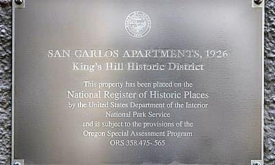 Community Signage, 831 SW Vista Ave, 2