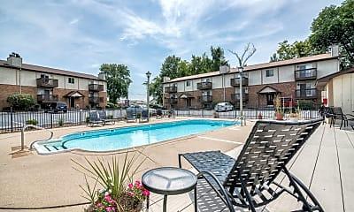 Pool, Lake Christine Village Apartments, 2