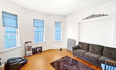 Living Room, 162 Kelton St #1, 2