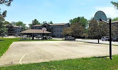 Basketball Court, Crescent Park, 1