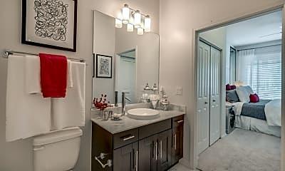 Bathroom, The Marq Highland Park, 2