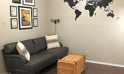 Living Room, 2000 Whitis Ave, 1