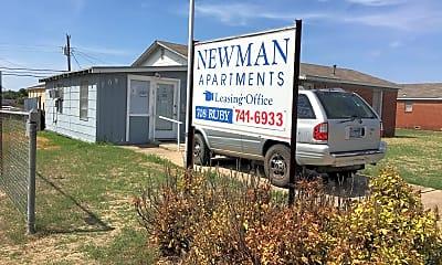 Newman Apartments, 1