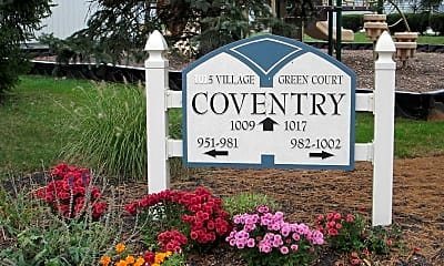 Community Signage, Coventry Apartments, 0
