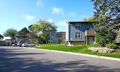 Building, Ridgecrest Apartments, 0