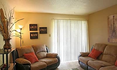 Living Room, French Road Apartments, 1