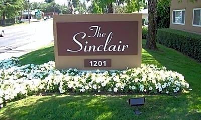 Community Signage, Sinclair Apartments, 0