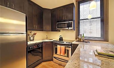 Kitchen, 56 Pine St 14-D, 1