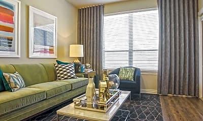 Living Room, Keller Springs Crossing, 1