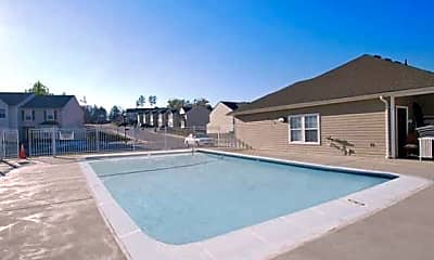 Pool, Broadwater Townhomes, 2