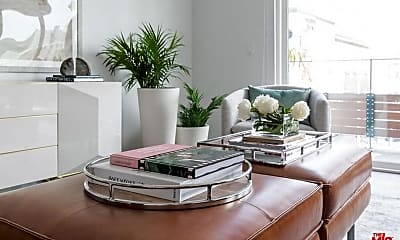 Living Room, 1425 N Crescent Heights Blvd 202, 1