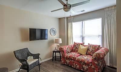 Living Room, Pulaski Square, 1
