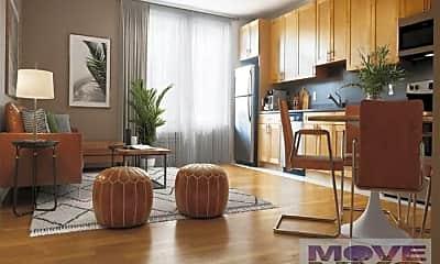 Living Room, 701 W 177th St, 0