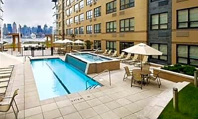 Pool, 150 Ave at Port Imperial, 1