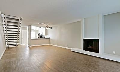 Living Room, Brookwood Apartments, 0