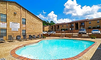Pool, Chevy Chase Apartments, 0