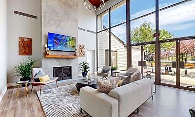 Living Room, Fairland Crossing Apartments, 0