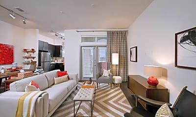Living Room, 2848 Woodside, 1