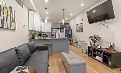 Living Room, 1702 Point Breeze Ave A, 1