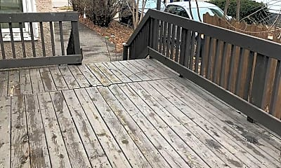Patio / Deck, 611 Grant St, 2
