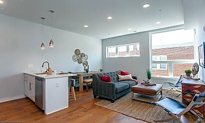 Living Room, 5938 Henry Ave 21, 1