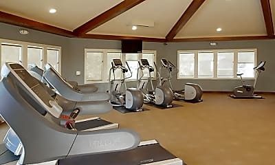 Fitness Weight Room, The Palms, 2